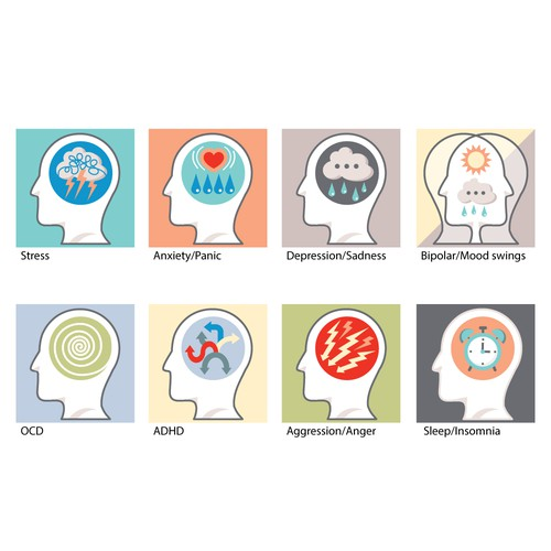 Iconographic for psychological support
