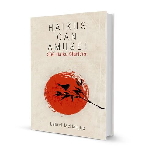 Simple cover design for HAIKUS