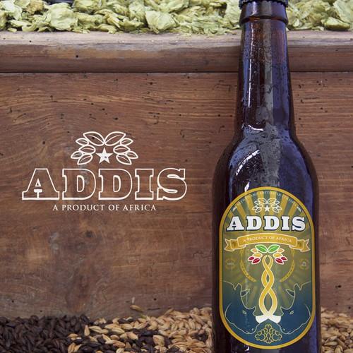 African Beer Label