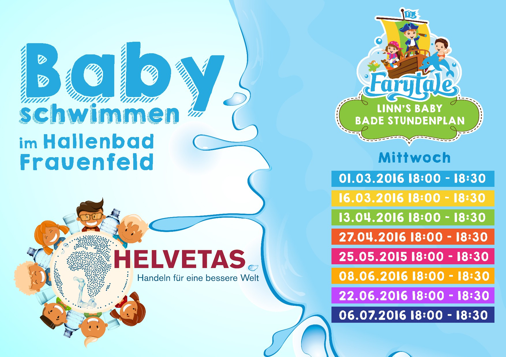 The New FarytaLe timetable