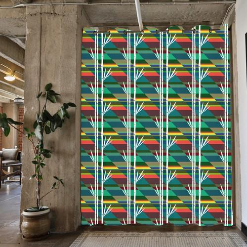 Room Divider, seamless pattern