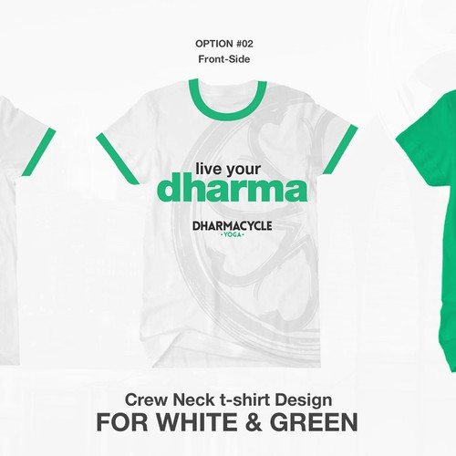Design a shirt for a yoga and cycle studio!