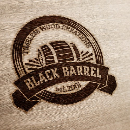 Vintage logo for Black Barrel