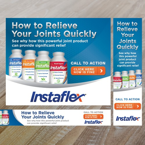 Instaflex Banners
