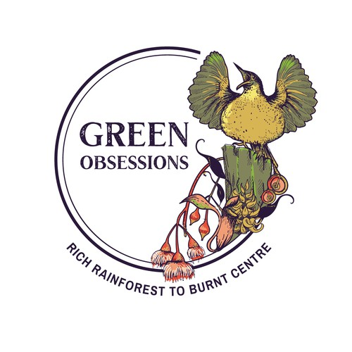 logo for Green obsessions