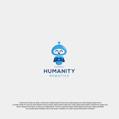 logo concept for humanity robotics