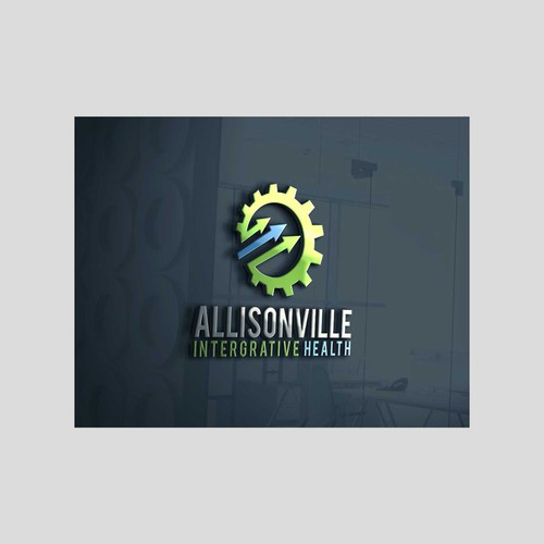 Create a modern, active, health & wellness style logo for a local Chiropractor