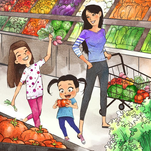 Children Book for Healthy Foods