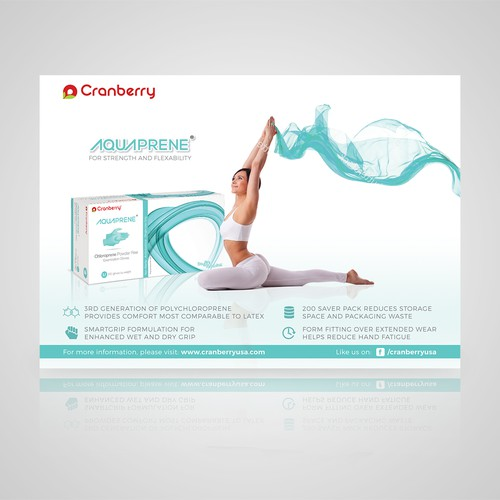 ad design for Aquaprene