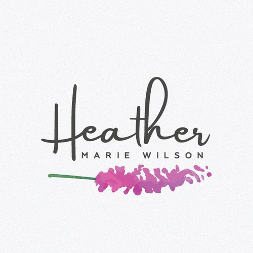 Logo design for the author Heather Marie Wilson