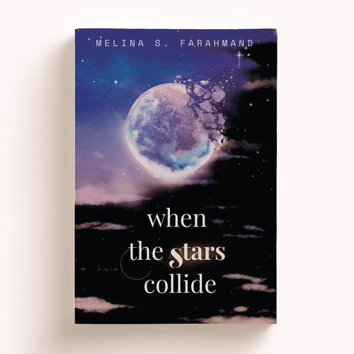 Cover for a poetry book When the Stars Collide