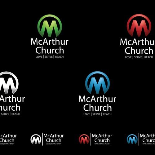 logo design for McArthur Church