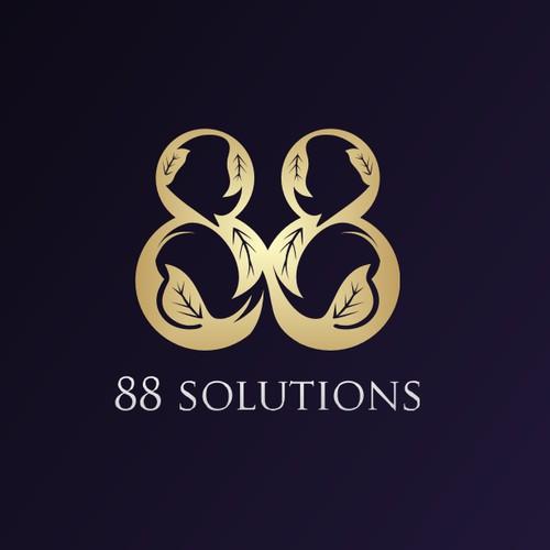 88solutions logo designs