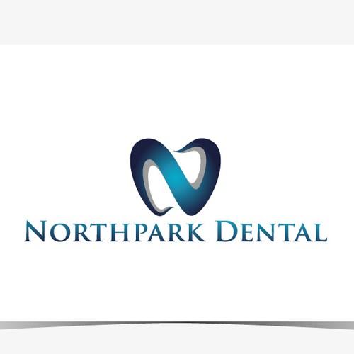 Contemporary logo design for multi-doctor dental practice.