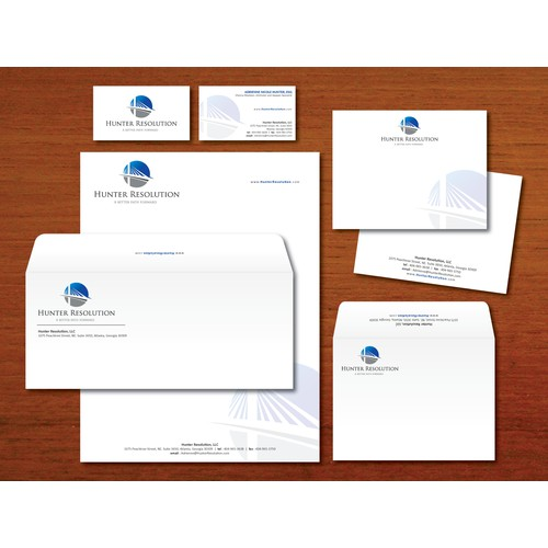 stationery for Hunter Resolution