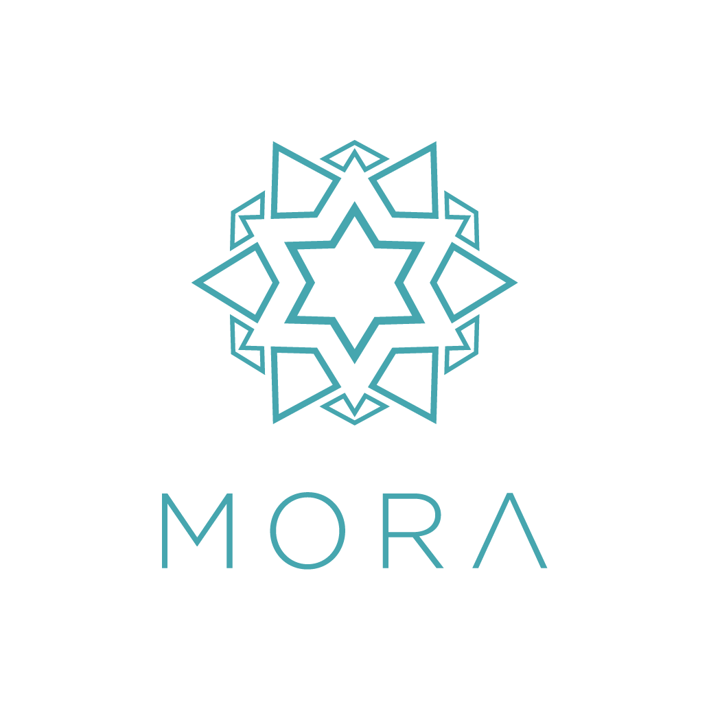 Create a Moroccan inspired logo for Mora Cosmetics.