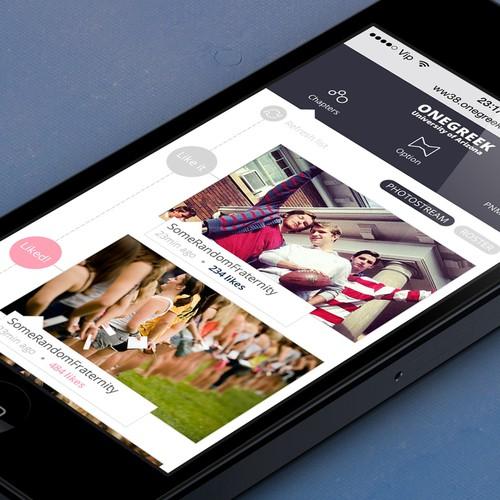 Collegiate Greek Life Niche Social Network