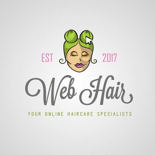Logo idea for haircare website