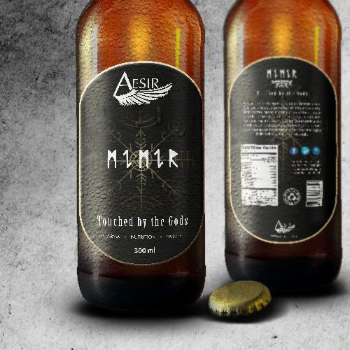 Bottle Label MIMIR