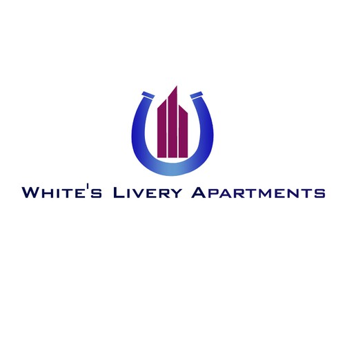 Create the next logo for White's Livery Apartments