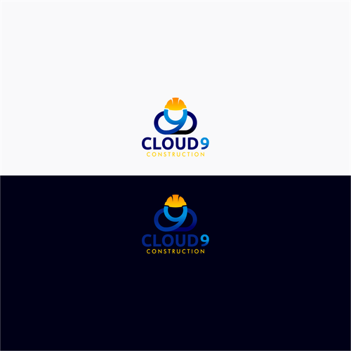 Logo Concept for Cloud 9 Construction