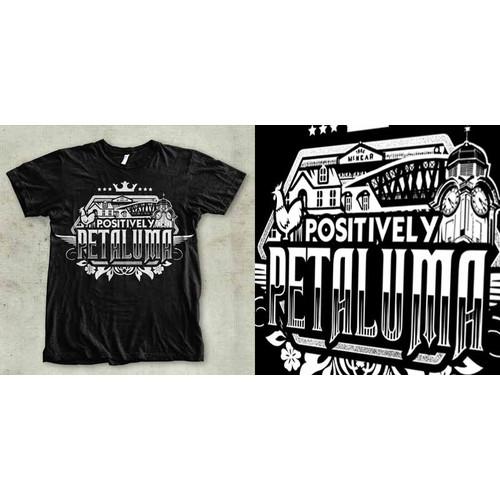 Positively Petaluma T shirt