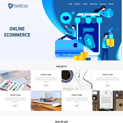 OnePage Design