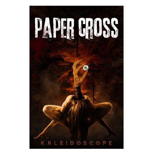 "Book Cover Design for ""Paper Cross"""