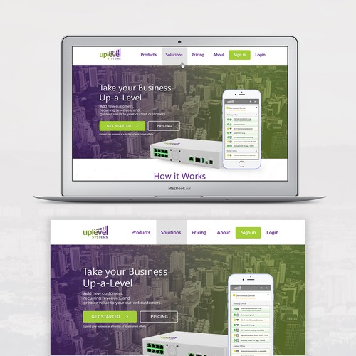 Uplevel Systems Website