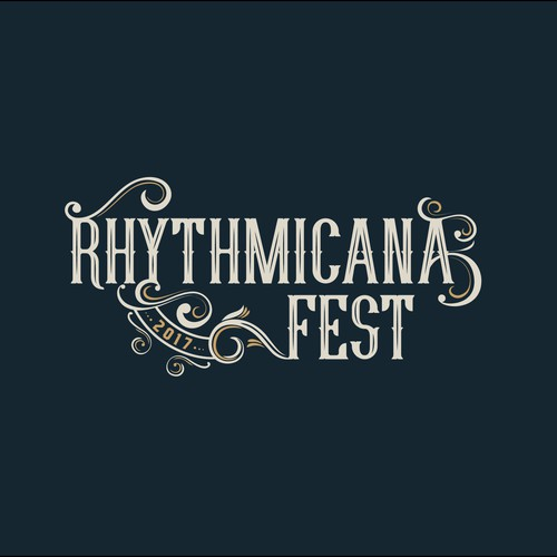 A logo for a music festival.