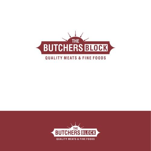 Logo concept for The Butcher Block