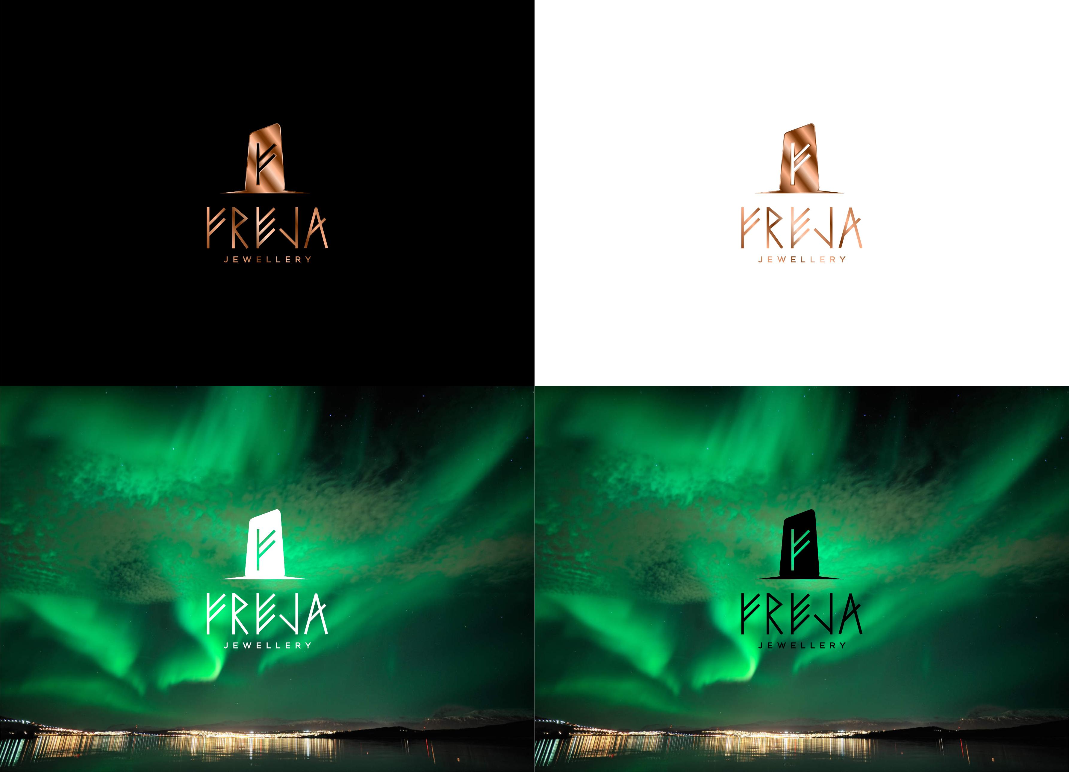 Runestone logo for recycled jewellery