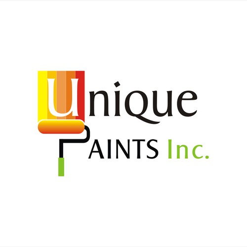 Logo Concept for Unique Paints Inc
