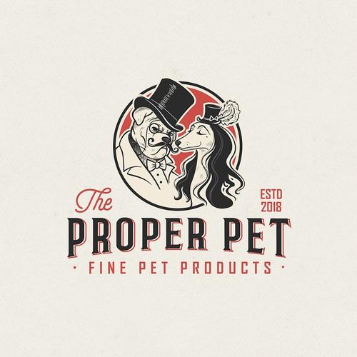 The Proper Pet logo