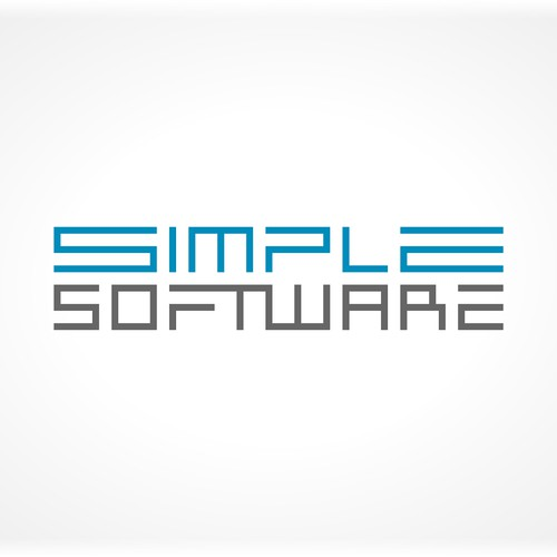 Create a playful, simple logo for a software company.