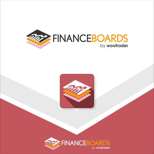 Design concept for FinanceBoards