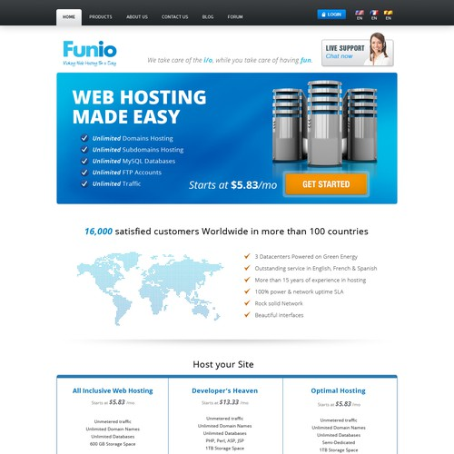 Guaranteed Contest: Home Page Redesign, existing site - Help Funio.com for a New Look !