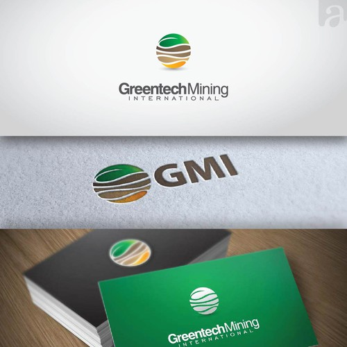 **UPDATED BRIEF** Logo & Business Card for Sustainable Gold Mine - Greentech Mining International