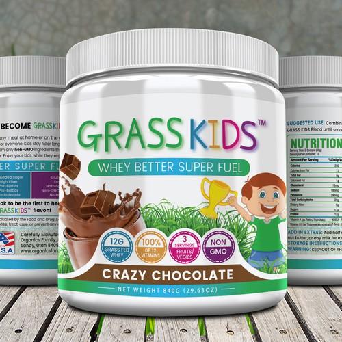 KIDS NUTRITIONAL SHAKE – NEEDS MODERN MAKE OVER!
