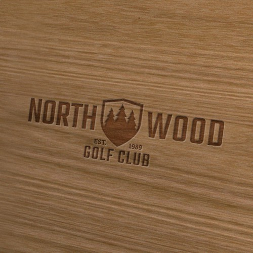 Logo Winner for North Wood Golf Club