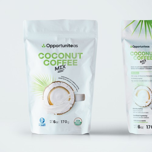 Coconut Coffee Mix