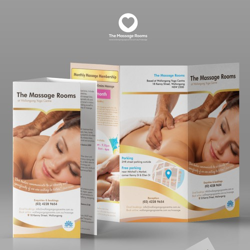 The Massage Rooms Leaflet