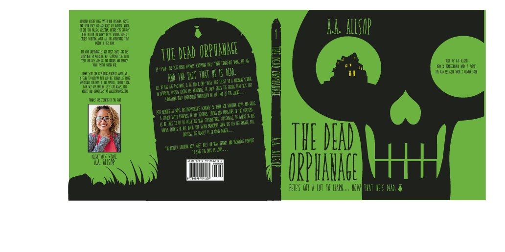 Quirky Gothic YA Dark Fantasy fiction Cover Design needed for Author