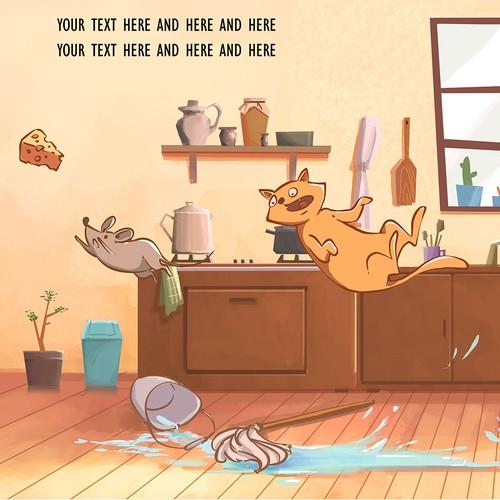 A book illustration