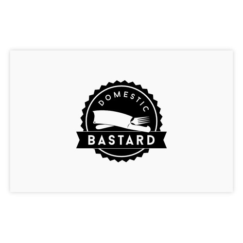 Design a logo for Domestic Bastard
