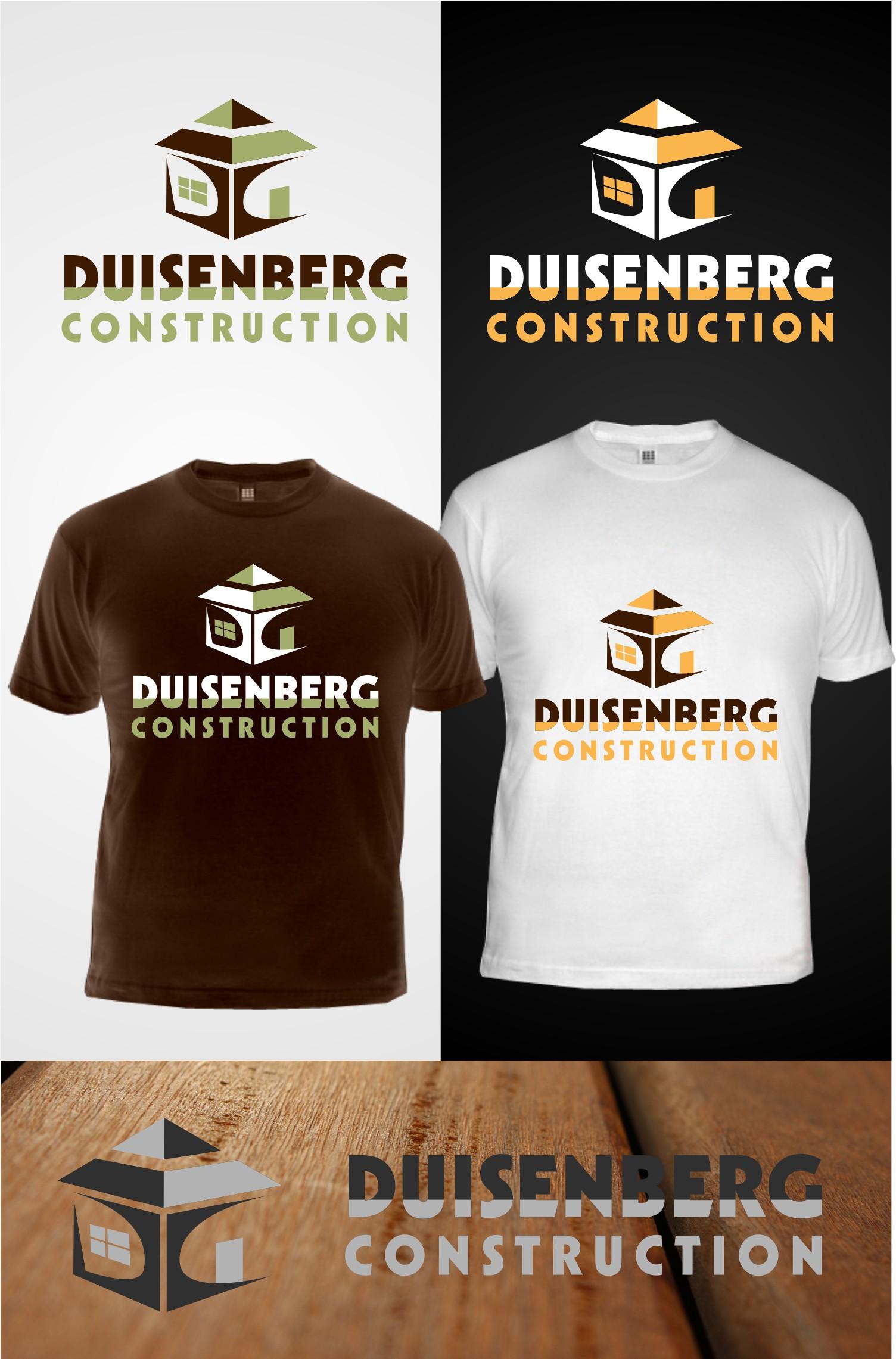 Create the next logo for Duisenberg Construction