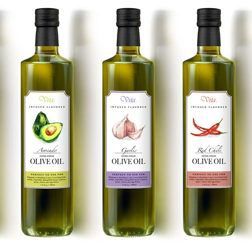 Infused Olive Oil Label