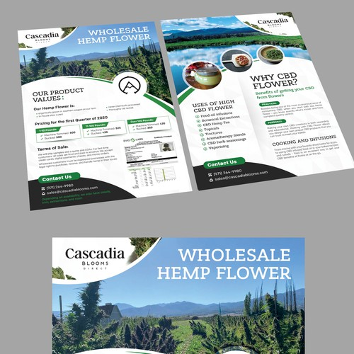 Cascadia Blooms Wholesale Hemp Flower