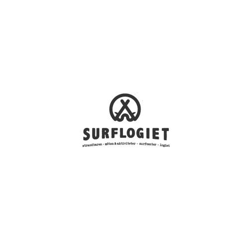 Surf school logo