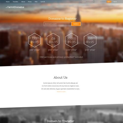 Site for domen company